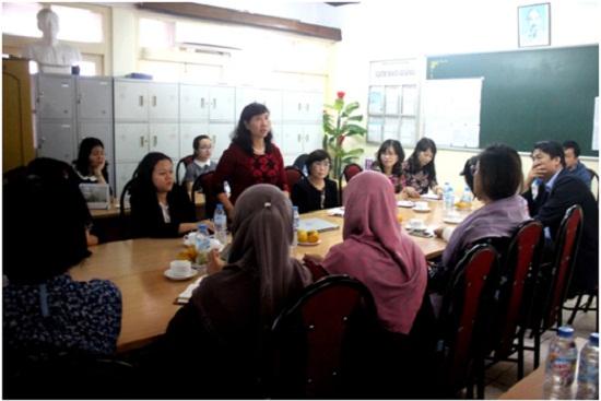 Giao lưu, trao đổi phương pháp dạy học STEM với các chuyên gia Bộ Giáo dục Malaysia