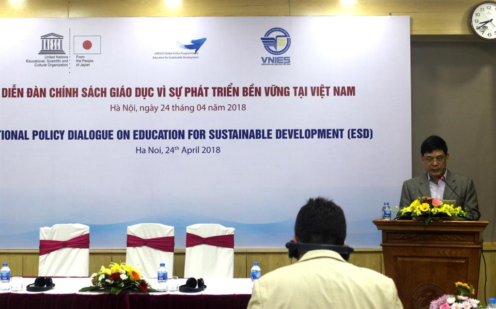 Diễn đàn chính sách giáo dục vì sự phát triển bền vững tại Việt Nam (National Policy dialogue on Education for Sustainable Development – ESD)